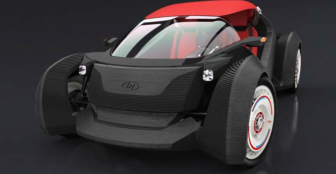 The Strati Is The World's First 3D-Printed Car