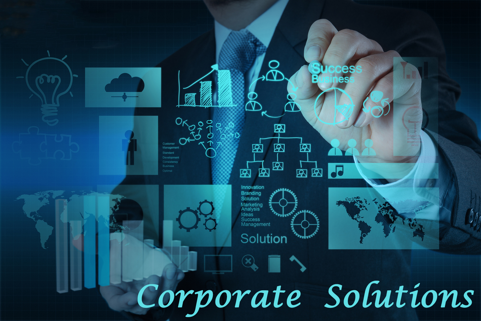Corporate  Services from Vbridge Consulting