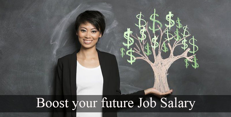 Facts Helpful to Boost Your Future Job Salary