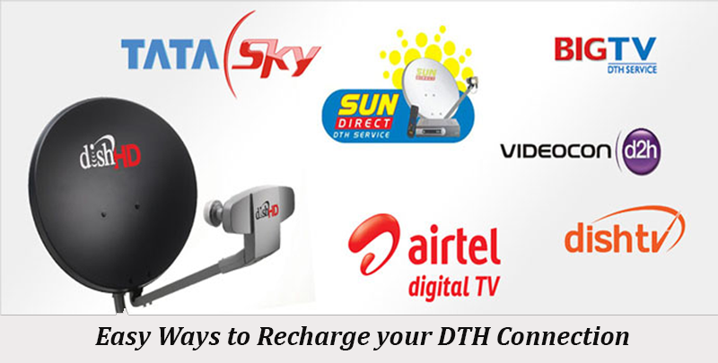 Recharge your DTH Connection through sionline