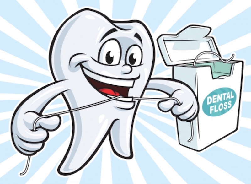 Guide To Floss Your Teeth!